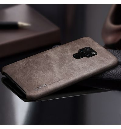 Huawei Mate 20 - Coque cuir vintage series - Marron