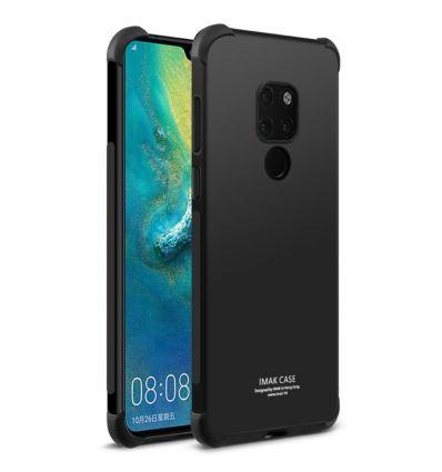Huawei Mate 20 - Coque Class Protect - Noir métal