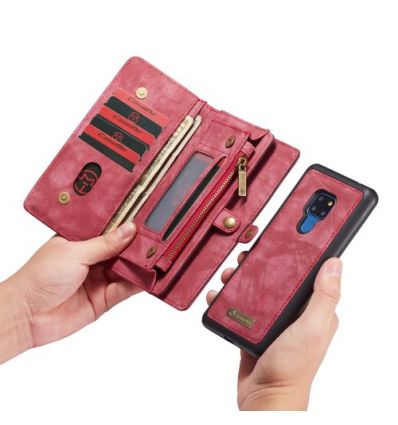 Huawei Mate 20 - Coque et housse portefeuille 2-en-1 - Noir