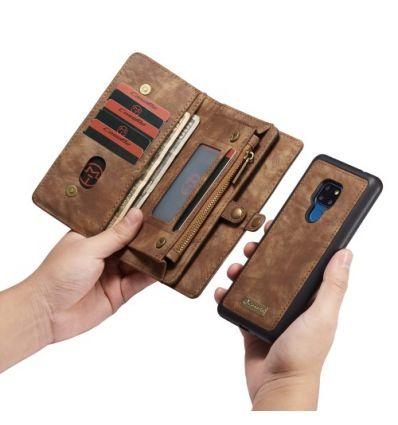 Huawei Mate 20 - Coque et housse portefeuille 2-en-1 - Marron