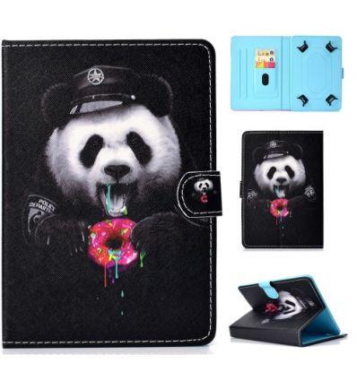 Housse universelle pour tablette 10 pouces Panda Gourmand