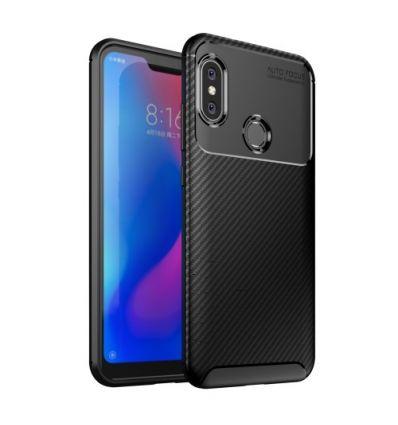 Xiaomi Mi A2 Lite - Coque Karbon Classy - Noir
