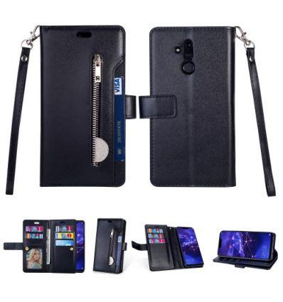 Huawei Mate 20 Lite - Housse portefeuille en cuir