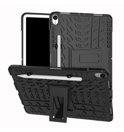 iPad Pro 11 pouces - Coque antidérapante avec support intégré - Noir