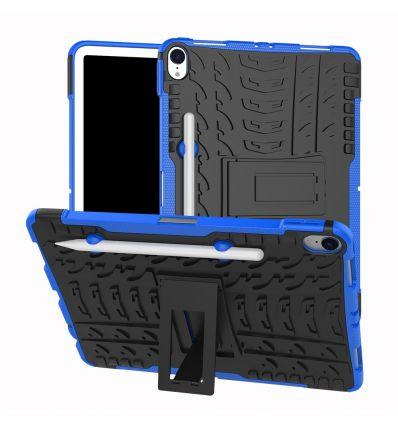 iPad Pro 11 pouces - Coque antidérapante avec support intégré - Bleu