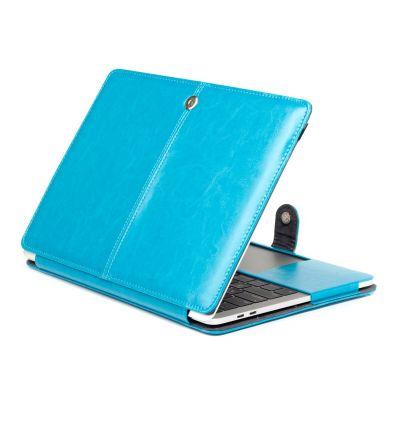 MacBook Air 13 pouces 2018 - Étui premium en simili cuir