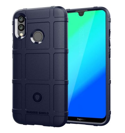 Honor 10 Lite - Coque protectrice square grid - Bleu