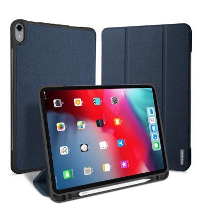 "iPad Pro 11"" 2018 - Étui premium effet toile - Bleu"