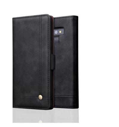 Samsung Galaxy Note 9 - Housse cuir smart rétro