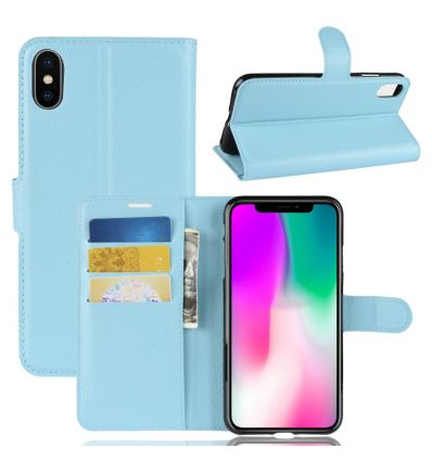iPhone XR - Housse style cuir porte cartes