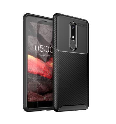 Nokia 5.1 - Coque Karbon Classy