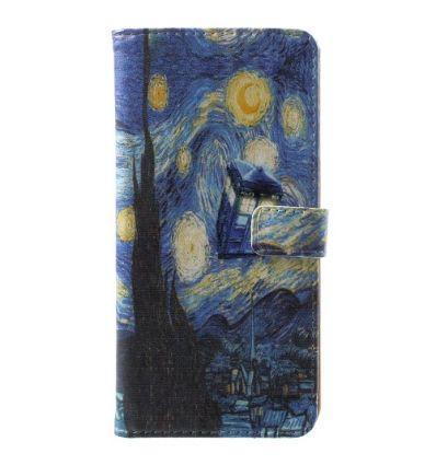 Nokia 5.1 - Housse porte cartes La Nuit étoilée
