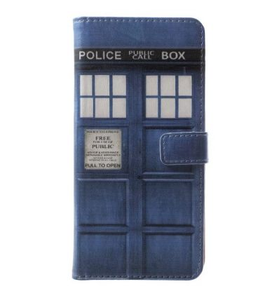 Nokia 5.1 - Housse porte cartes Police Box Doctor Who