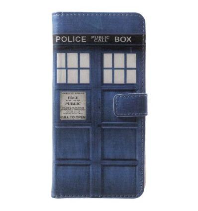 Nokia 5.1 - Housse porte cartes Police Box Doctor Who
