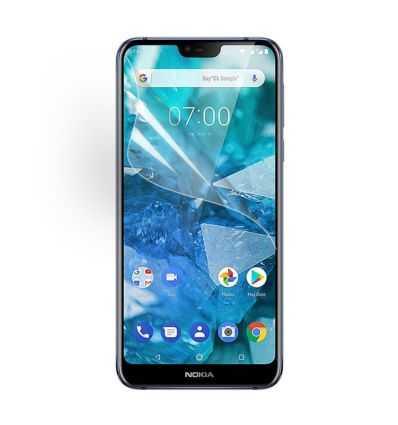 Nokia 8.1 - 5 films protecteurs écran