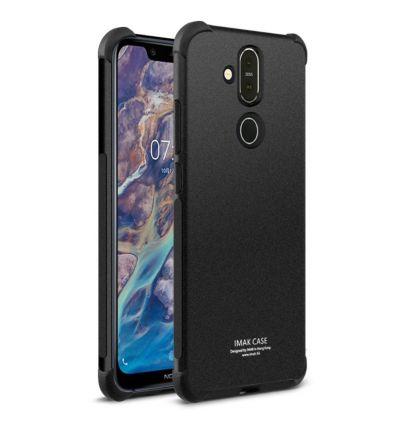 Nokia 8.1 - Coque Class Protect - Noir métal