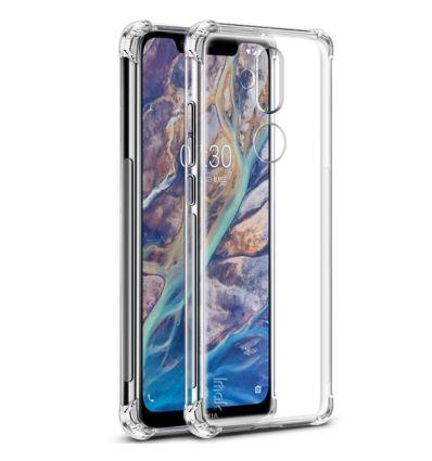 Nokia 8.1 - Coque transparente Class Protect
