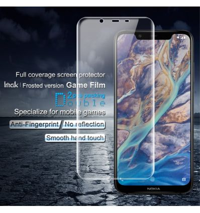 Nokia 8.1 - Protection d'écran full protection en hydrogel (x2)