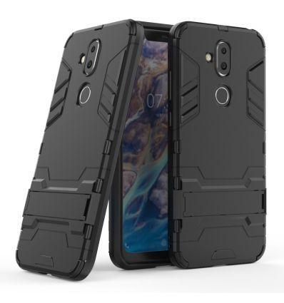 Nokia 8.1 - Coque cool guard antichoc avec support intégré