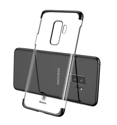 Samsung Galaxy S9 Plus - Coque transparente BASEUS Glitter Series