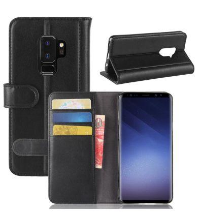 Samsung Galaxy S9 Plus - Housse cuir premium porte cartes