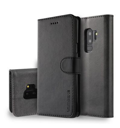 Samsung Galaxy S9 Plus - Housse MEEKE cuir porte cartes