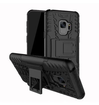 Samsung Galaxy S9 Plus - Coque antidérapante avec support intégré