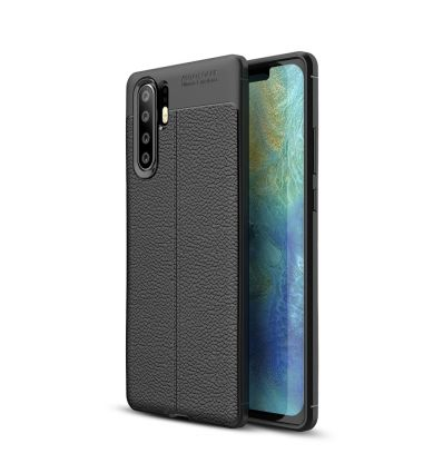 Huawei P30 Pro - Coque gel texturée style cuir
