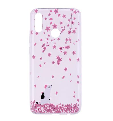 Honor 10 Lite - Coque silicone Spring flowers