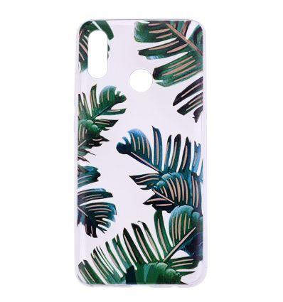 Honor 10 Lite - Coque silicone feuilles de palmier