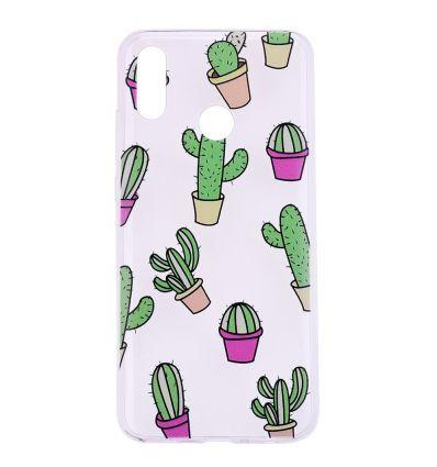 Honor 10 Lite - Coque silicone Cactus