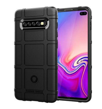 Samsung Galaxy S10 Plus - Coque protectrice rugged shield