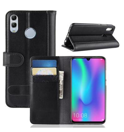 Housse Huawei P Smart 2019 cuir premium porte cartes