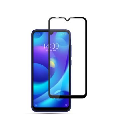 Xiaomi Mi Play - Protection d'écran en verre trempé Full Size - Noir