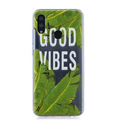 Huawei P Smart 2019 - Coque GOOD VIBES