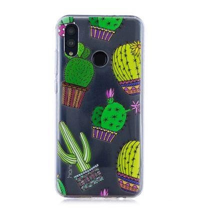 Huawei P Smart 2019 - Coque imprimée Cactus
