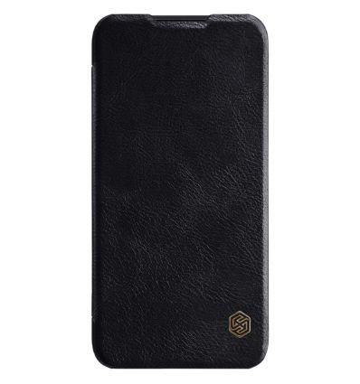 Housse Xiaomi Mi Play NILLKIN Qin revêtement cuir - Noir