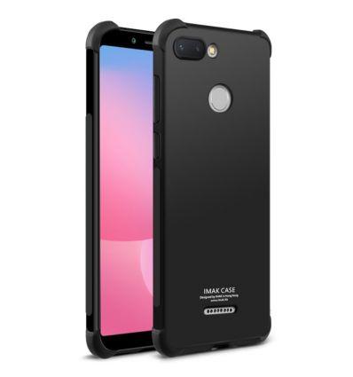 Xiaomi Redmi 6 - Coque Class Protect + film protecteur - Noir métal