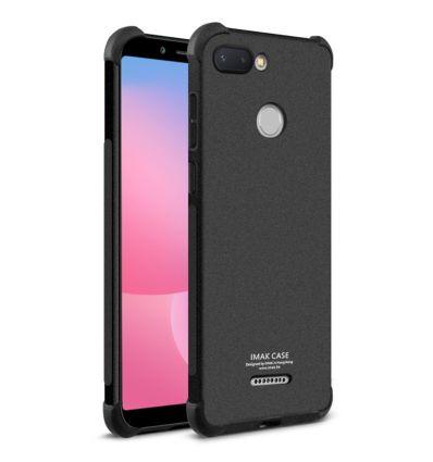 Xiaomi Redmi 6 - Coque Class Protect + film protecteur - Noir mat
