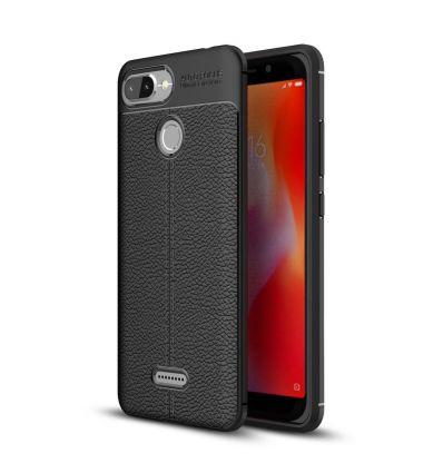 Coque Xiaomi Redmi 6 texturée style cuir
