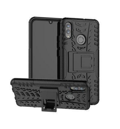 Honor 10 Lite - Coque antidérapante avec support intégré