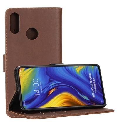 Xiaomi Mi Mix 3 - Étui en simili cuir rétro