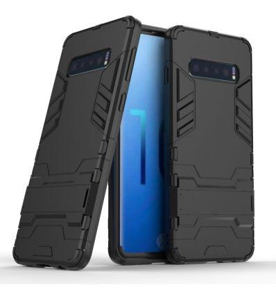 Samsung Galaxy S10 - Coque cool guard antichoc avec support intégré