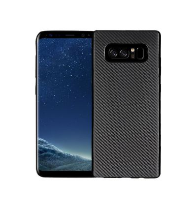 Samsung Galaxy S10 - Coque revêtement fibre de carbone