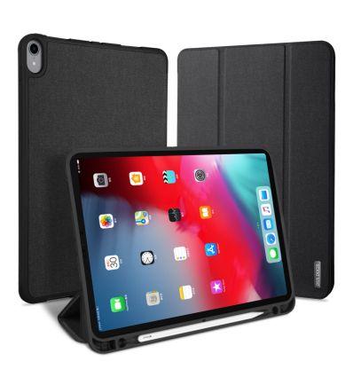 iPad Pro 12.9 2018 - Étui premium effet toile & Pen Slot