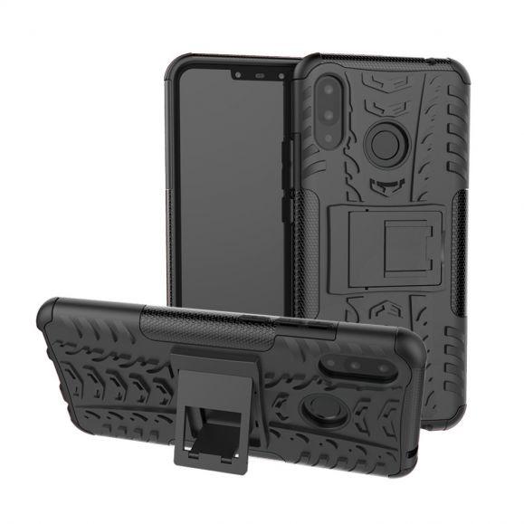 Huawei P Smart Plus - Coque antidérapante avec support intégré