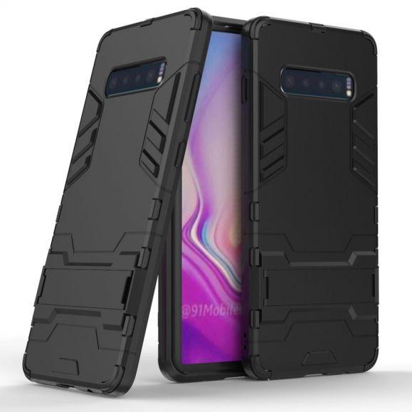 Samsung Galaxy S10 Plus - Coque cool guard antichoc avec support intégré