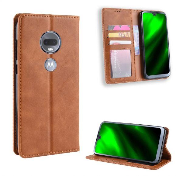 Motorola Moto G7 - Étui style cuir Le Cirénius
