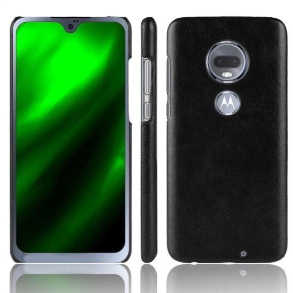 Coque Motorola Moto G7 Effet Cuir