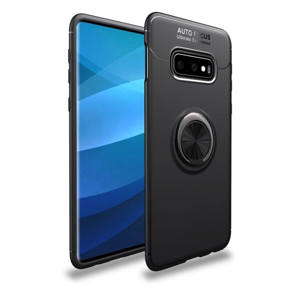 Samsung Galaxy S10 Plus - Coque gel avec support rotatif